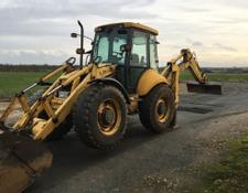 New Holland backhoe loader LB115