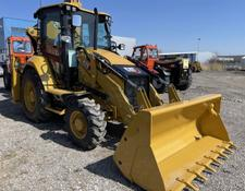 Caterpillar backhoe loader 428