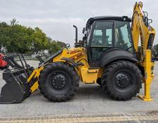 New Holland backhoe loader B 115B