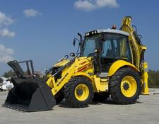 New Holland backhoe loader B 100C