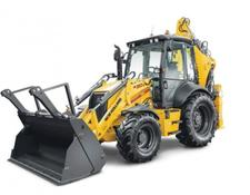 New Holland backhoe loader B 110C TC