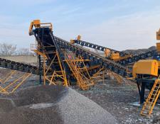 Fabo STATIONARY TYPE 120-200 T/H CRUSHING & SCREENING PLANT
