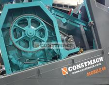 Constmach concrete mixer SINGLE SHAFT CONCRETE MIXERS, 2 YEARS WARRANTY