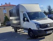VOLKSWAGEN closed box van Crafter
