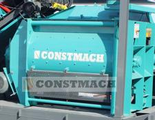 Constmach concrete mixer HIGH QUALITY TWIN SHAFT MIXER