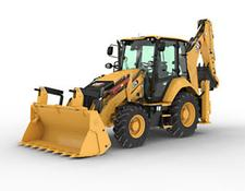 Caterpillar backhoe loader 428 - Joysticks